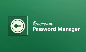 Icecream Password Manager